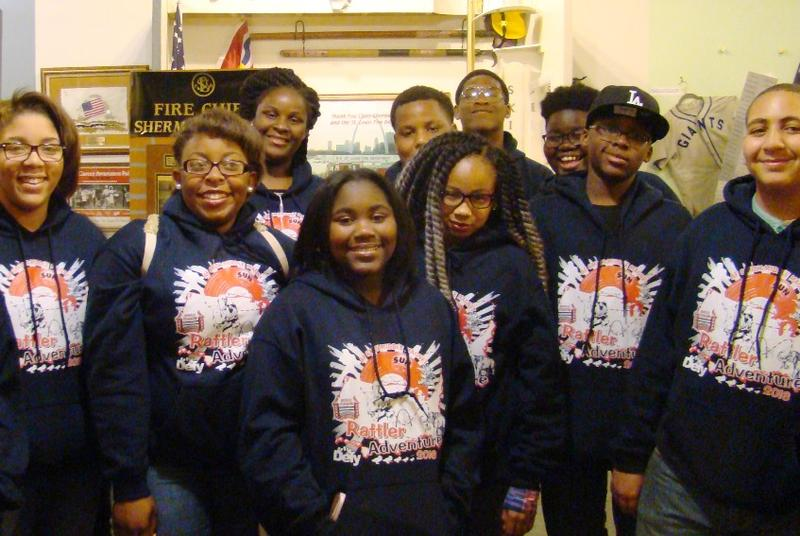 This group of 40 students from Arthur Smith Middle Magnet School in Alexandria, La., stopped by the Griot Museum of Black History last week on a spring break trip.