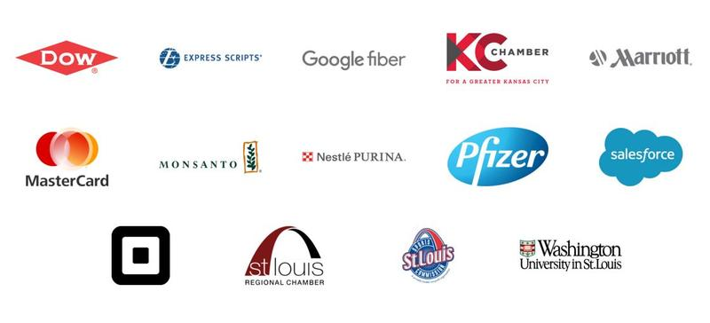 Some of the companies involved in Missouri Competes, a coalition of businesses that oppose SJR 39.