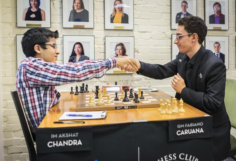 Akshat Chandra vs. Fabiano Caruana