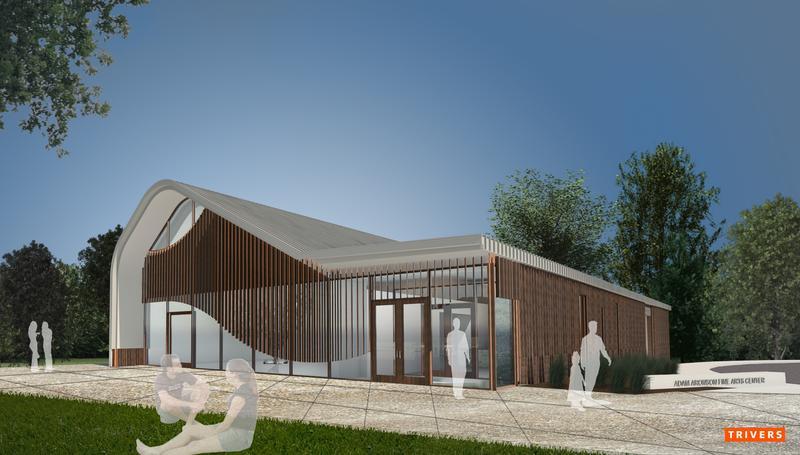 Aronson Center rendering