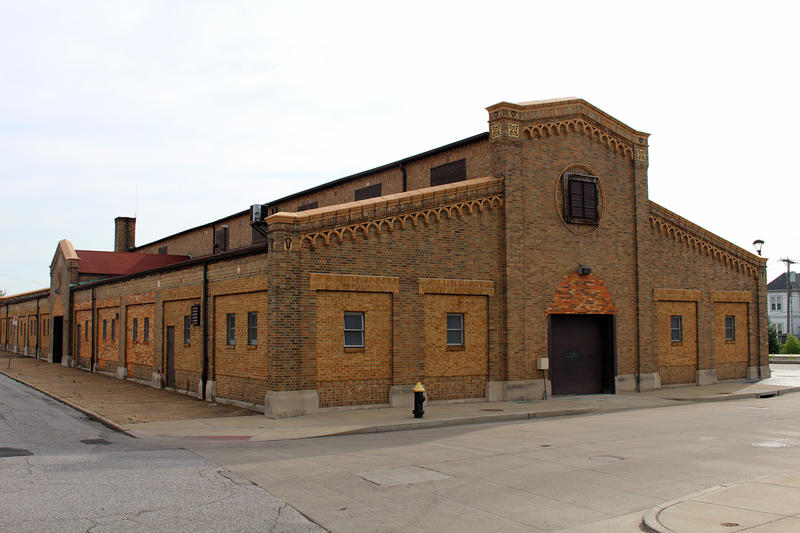 Originally built to house the Biddle Street Market, this city-owned building at 1211 N. Tucker Blvd. is slated to house the city's new 24-hour homeless shelter.
