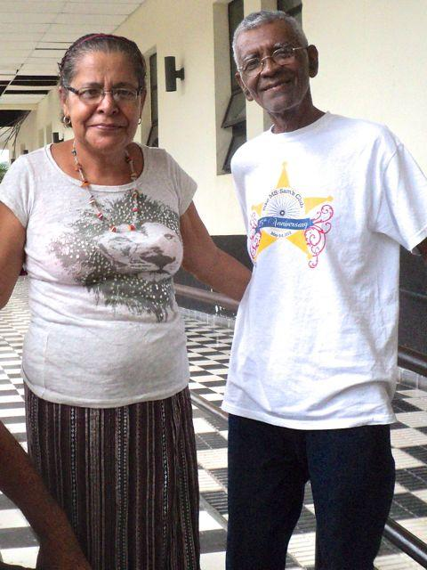 Erlinda and Guillermo at San Felipe before chemo treatments.
