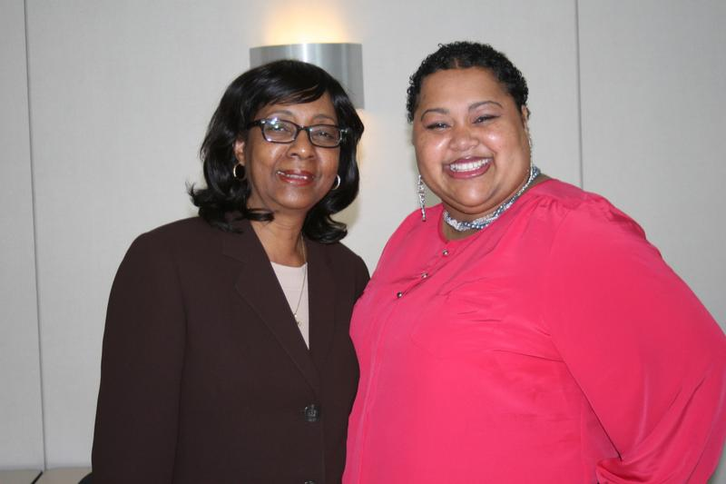 Shirley Lacks, left, and Veronica Spencer