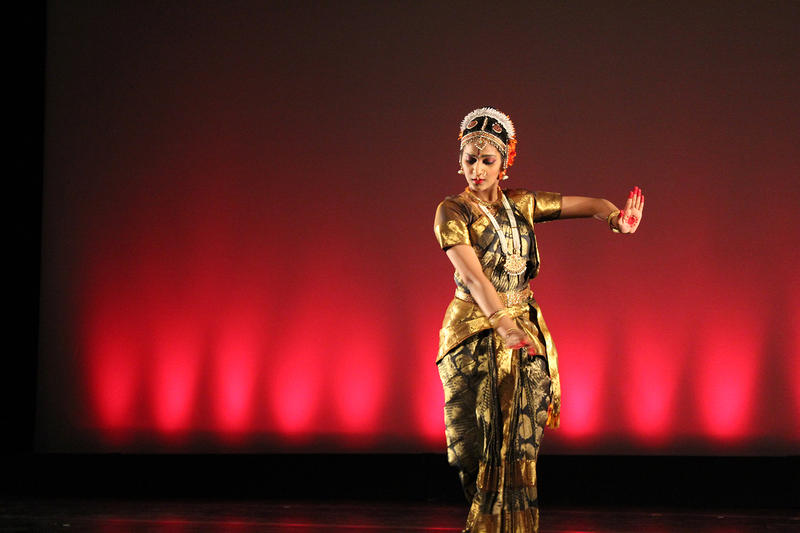 Lalitha Jilakara is performing a traditional Indian dance in the concert.
