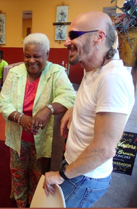 Leona Meeks and Bob Hansman