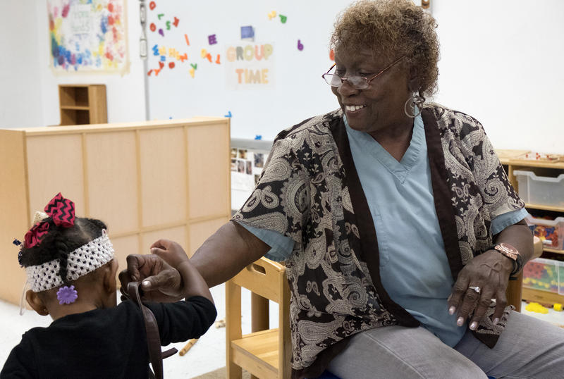 Cardinal Ritter Senior Services' Foster Grandparents program connects seniors with low-income children with special needs.