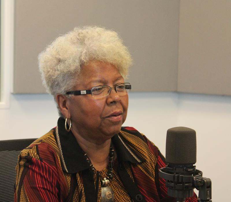Judi Hampton joined St. Louis on the Air host Don Marsh.
