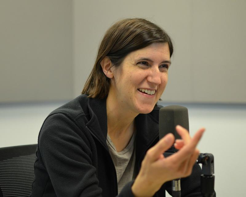 """Author Curtis Sittenfeld, who makes her home in St. Louis, shared the process behind her most recent novel, the New York Times best-seller, """"Eligible."""""""
