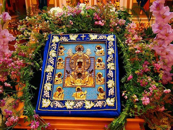 The Kursk Root Icon is annually venerated at Orthodox parishes across North America.