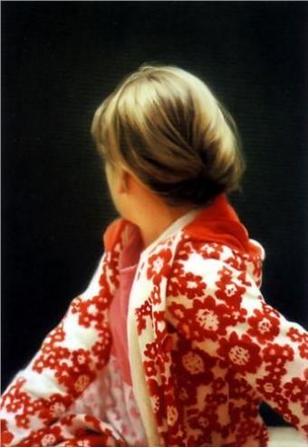 Betty, 1988, Gerhard Richter, oil on canvas, 40 1/4 x 28 1/2 inches.  Purchased with donations.