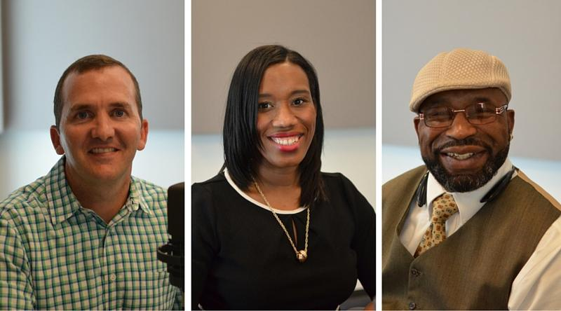 "Jim Craig, Jacqueline Thompson and Harold Taylor joined ""St. Louis on the Air"" host Don Marsh to discuss ""The Telling Project,"" which is a collaboration between UMSL and local veterans."