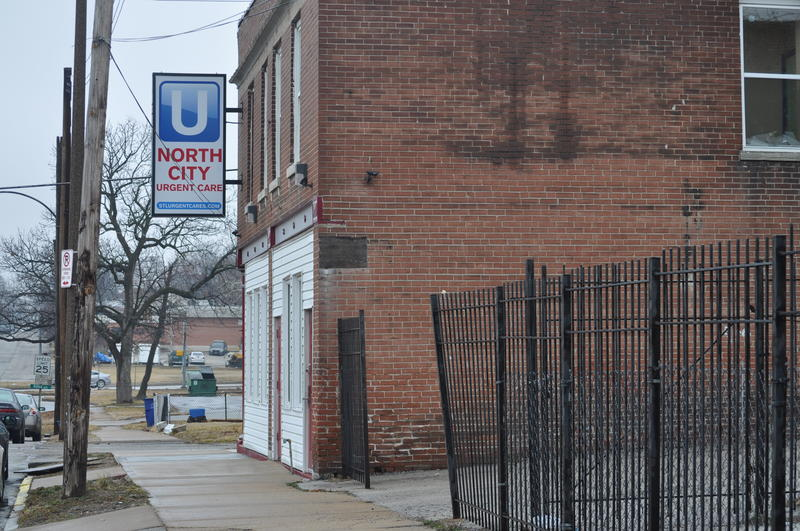 A file photo of North City Urgent Care, at 6113 Ridge Avenue in north St. Louis City.
