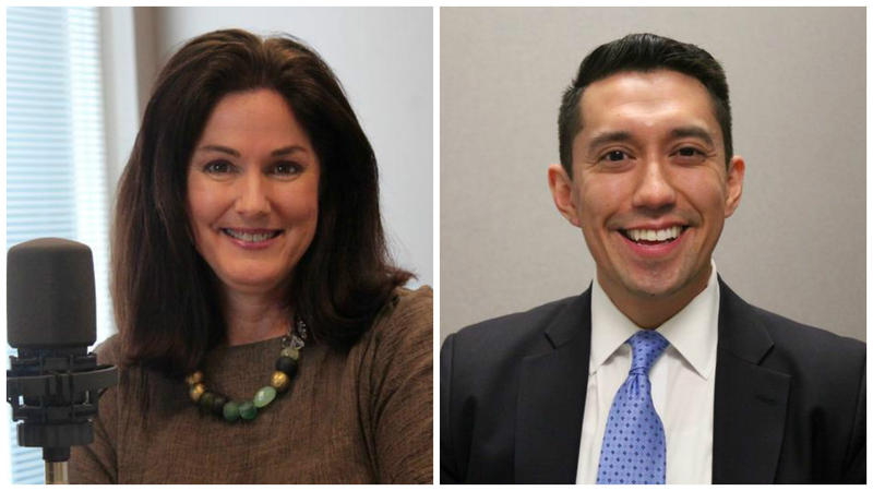 Democrats Judy Baker and Pat Contreras are each running for state treasurer.