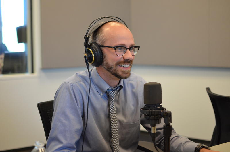 Ryan McClure, communication director for CityArchRiver, discusses next steps for the project with St. Louis on the Air host Don Marsh.