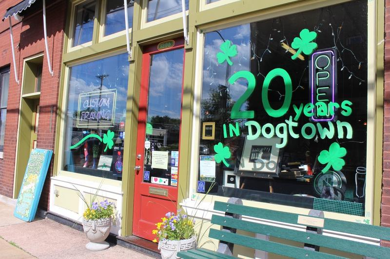 Dogtown businesses celebrate the community's traditions.