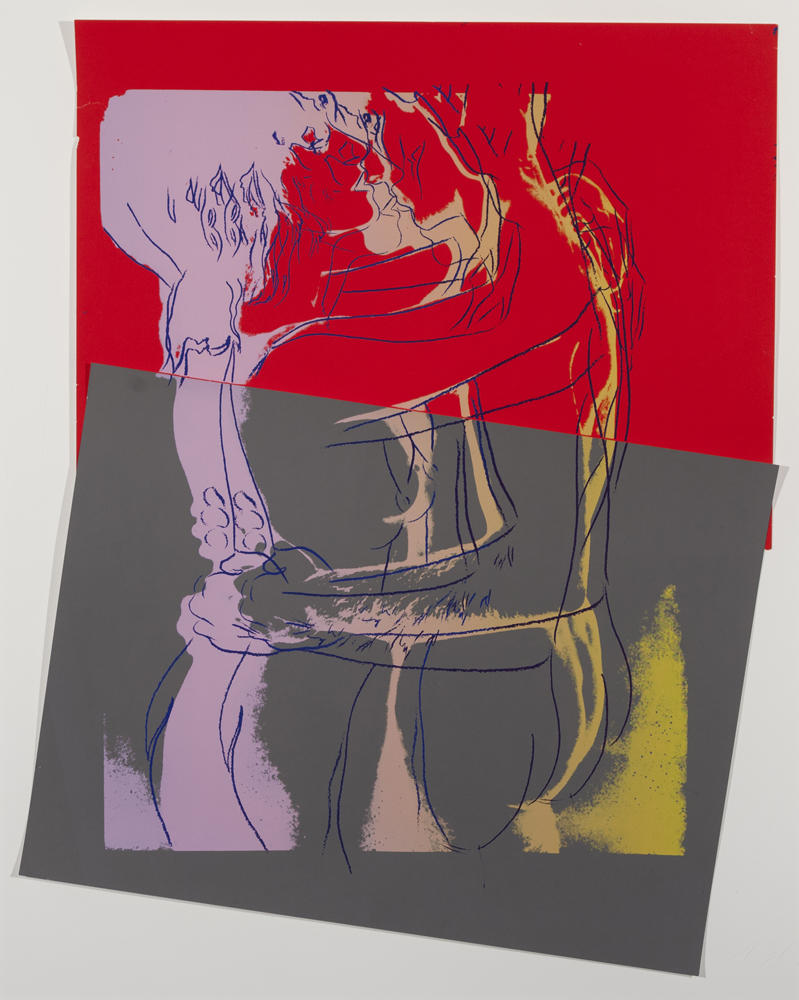 Andy Warhol's Love is slated to sell for between $45,000 and $60,000.