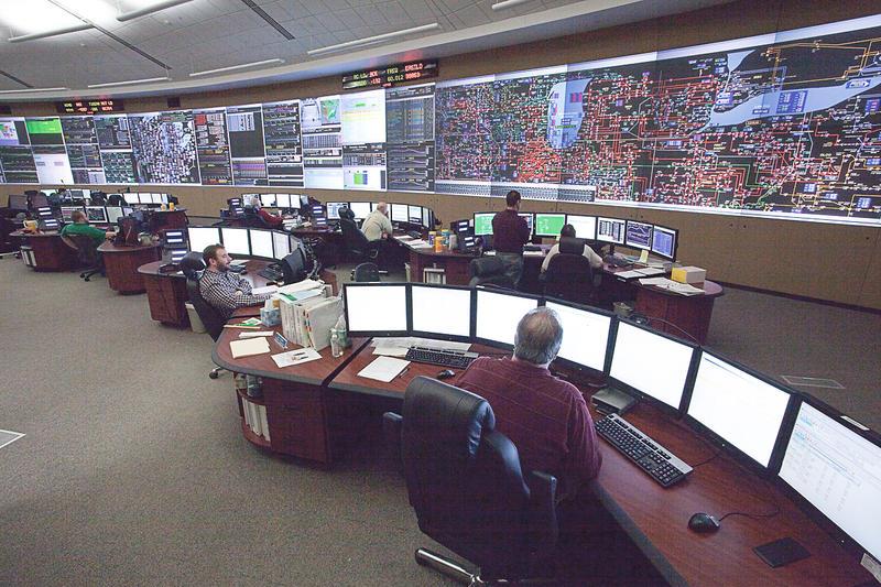 MISO control room