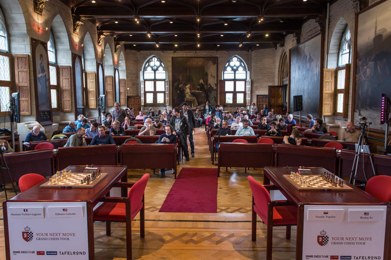 Leuven, Belgium, hosted the second leg of the Grand Chess Tour.