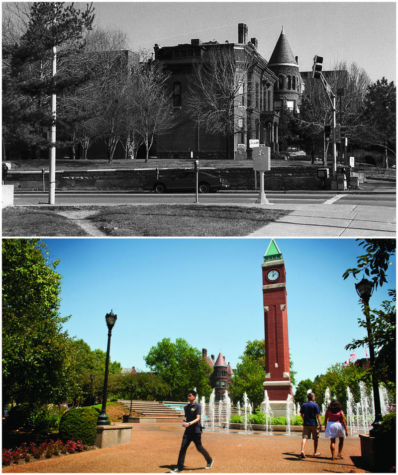 Historical/new photos provided by SLU The Clock Tower site