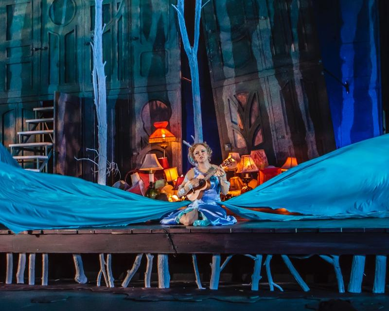 "Nancy Anderson as Titania in ""A Midsummer Night's Dream."""