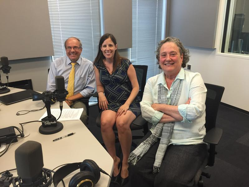 William Freivogel, Elizabeth Sepper and Susan Appleton joined Don Marsh in studio Tuesday.