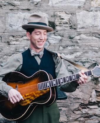 Pokey LaFarge showed up at the Mud House in March for a pop-up concert.