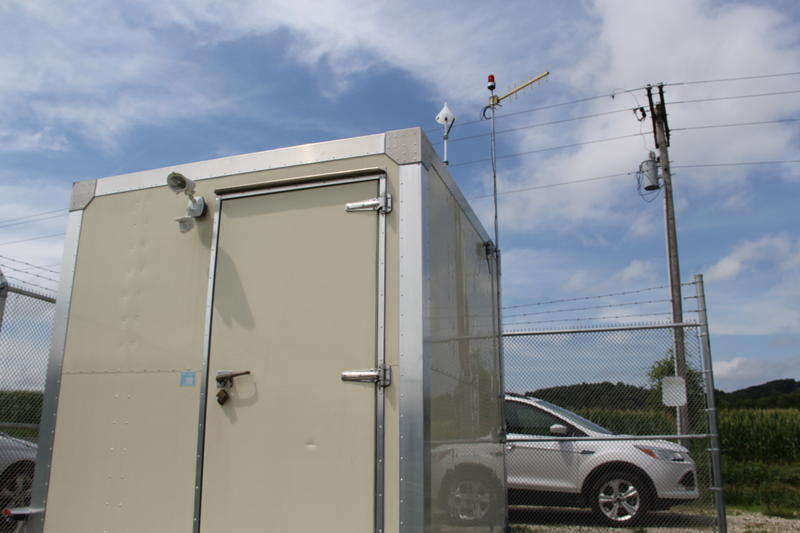 One of Ameren's air quality monitoring stations near Augusta, Mo.