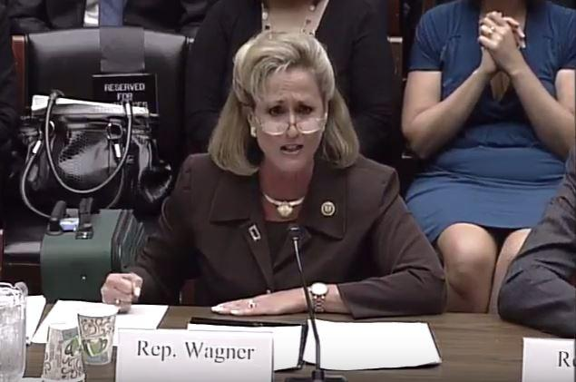 U.S. Reps. Ann Wagner and William Lacy Clay testified Wednesday during a Congressional hearing.