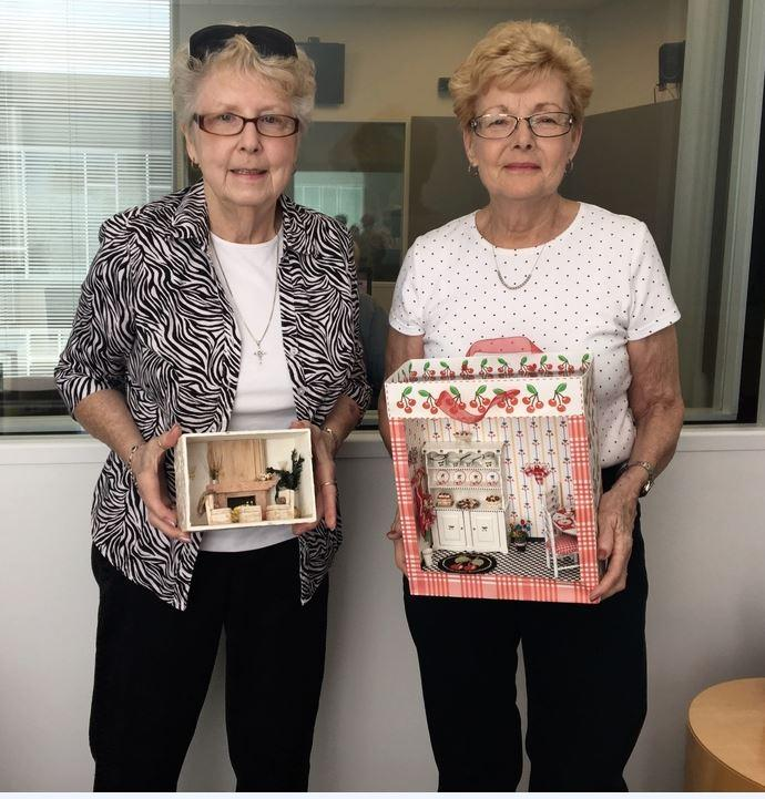 Joann Martin and Fay Zerbolio are two St. Louis-based miniaturists who run the Miniature Museum of Greater St. Louis in Bevo Mill.