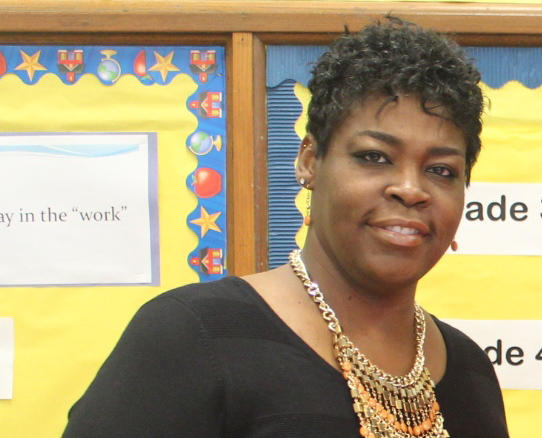 Jacara Sproaps became principal of Dunbar Elementary School in July 2013.