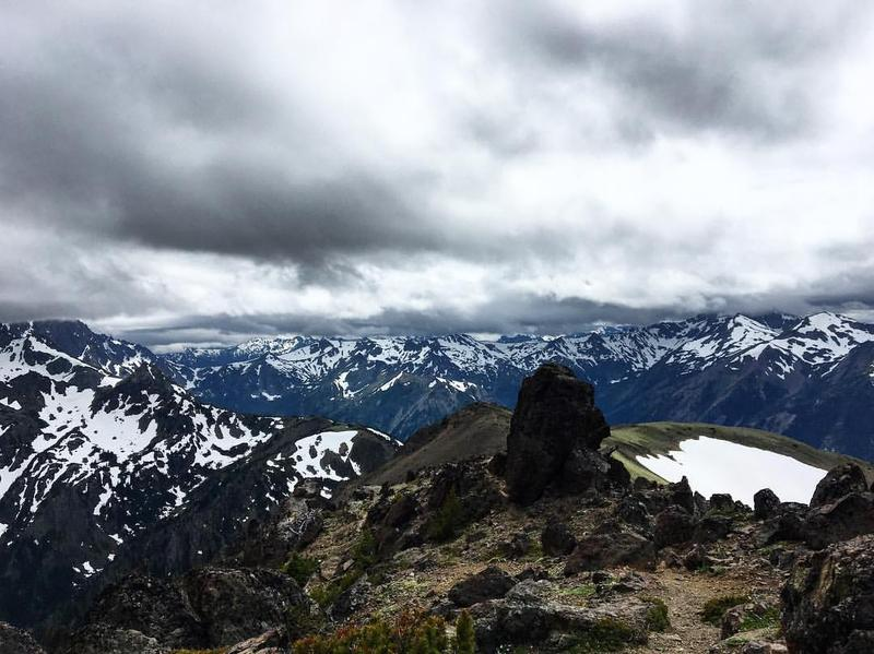 Producer Kelly Moffitt grabbed this shot from the top of Mt. Buckhorn in Olympic National Park this past June. What are your best pictures from inside the national parks? Send them our way: talk@stlpublicradio.org.