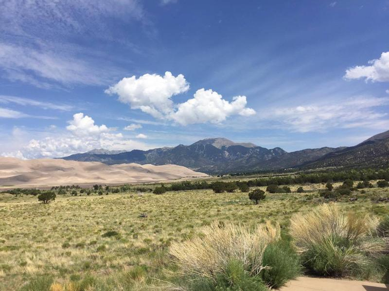 Kelly McHoney shared this photo from Great Sand Dunes National Park in Colorado.
