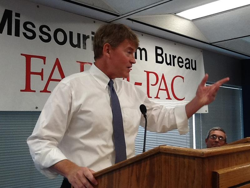 Gubernatorial candidate Chris Koster became the first Democrat endorsed by the Missouri Farm Bureau for a statewide office.