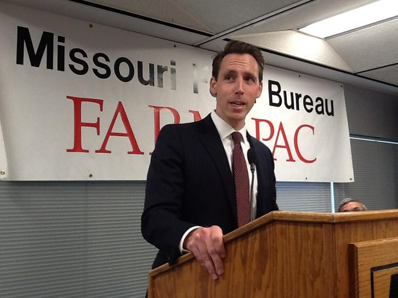 Republican Josh Hawley won the endorsement of the Missouri Farm Bureau for attorney general.
