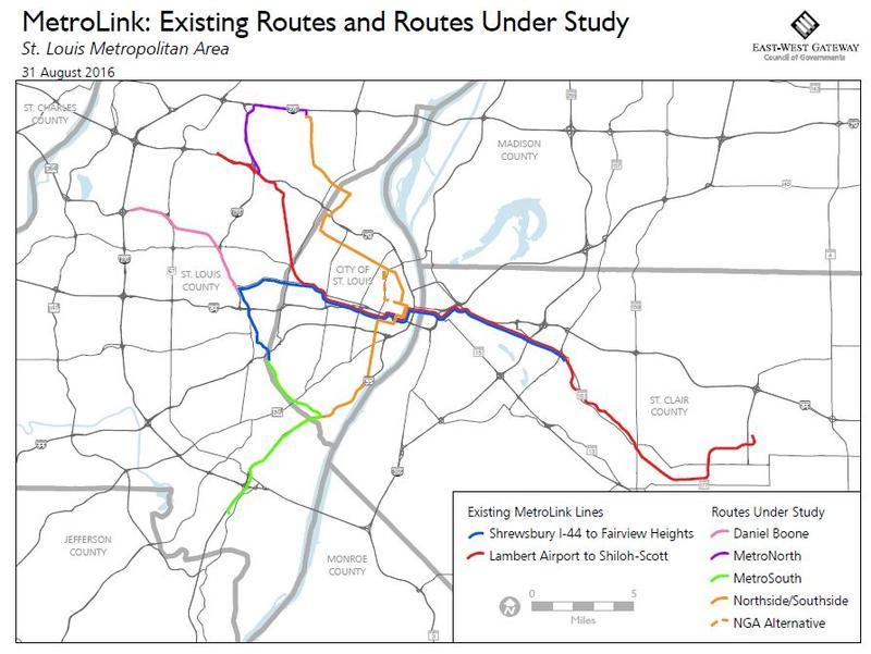 EastWest Gateway approves 5 million for MetroLink expansion