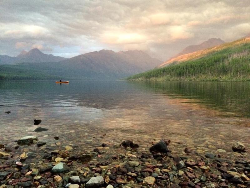 Producer Kelly Moffitt captured this photo at Kintla Lake in Glacier National Park in September 2015.