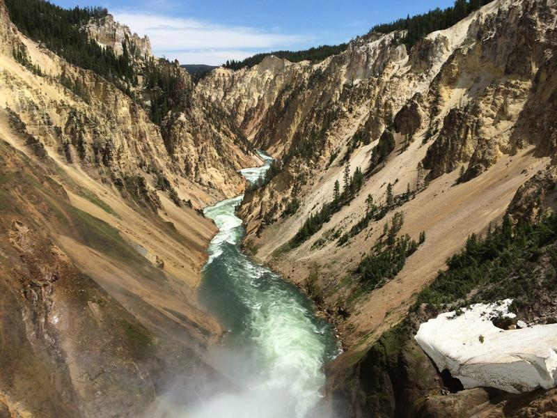 Sam Moore shared this photo of the Grand Canyon of Yellowstone National Park in 2014.