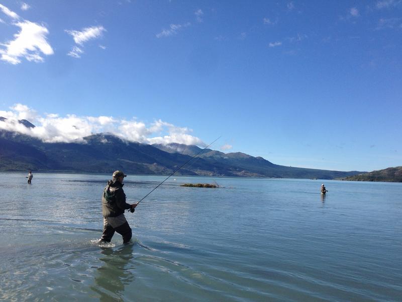 Lauren Durand shared this photo of friends fly fishing at Skilak Lake in the Kenai National Wildlife Refuge in Alaska.