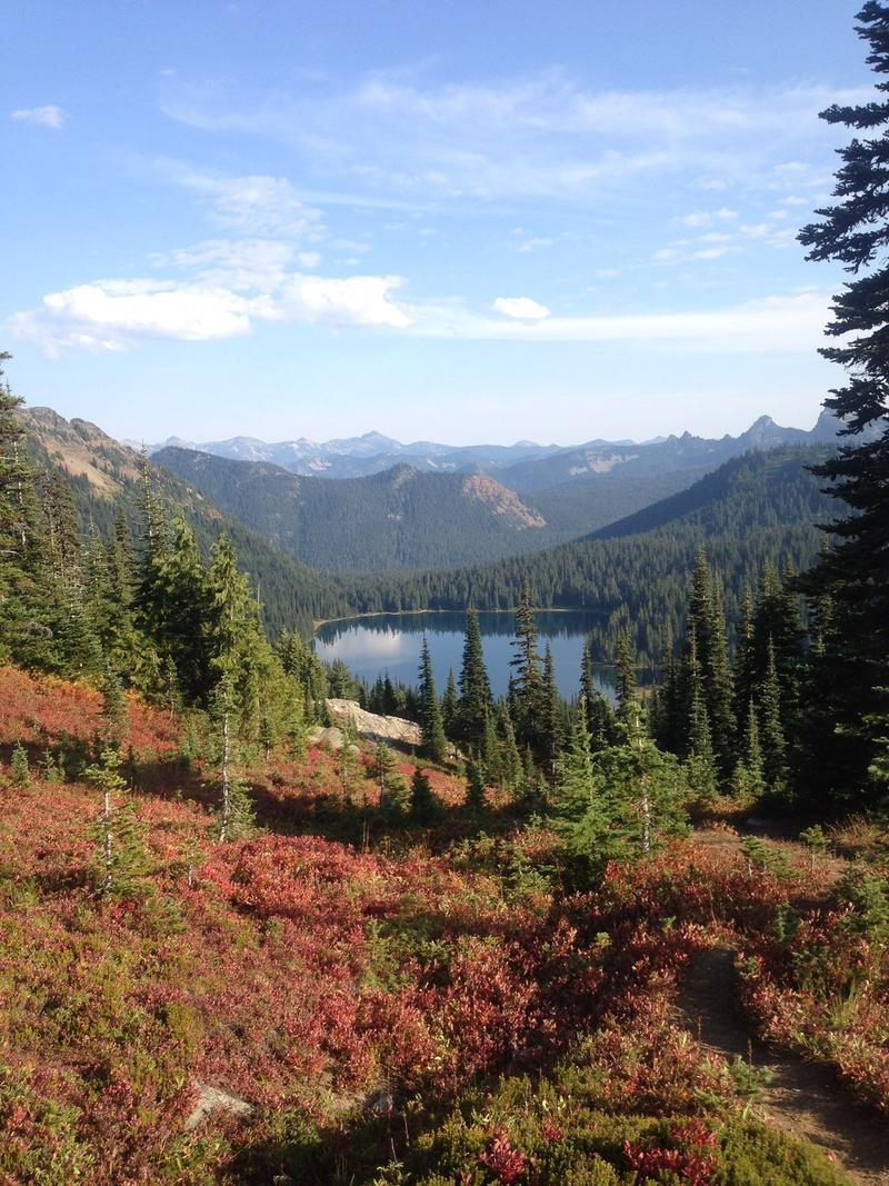 Lauren Durand shared this photo from her favorite lake in Snoqualmie National Forest in Washington state.