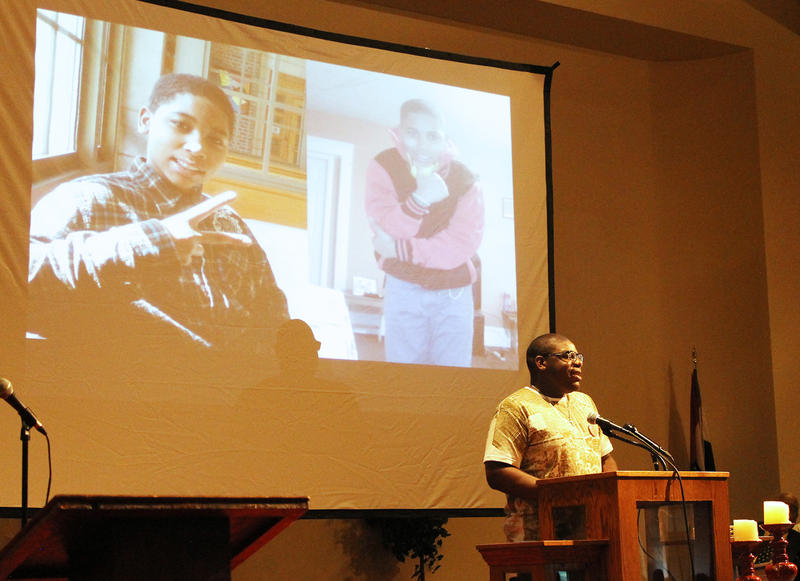 Truth-teller, Tavon Rice, goes over some of his favorite memories of his brother, Tamir Rice.