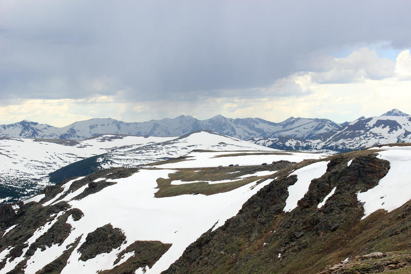 Jo Schaper shared this photo of the Alpine Meadows in Rocky Mountain National Park.