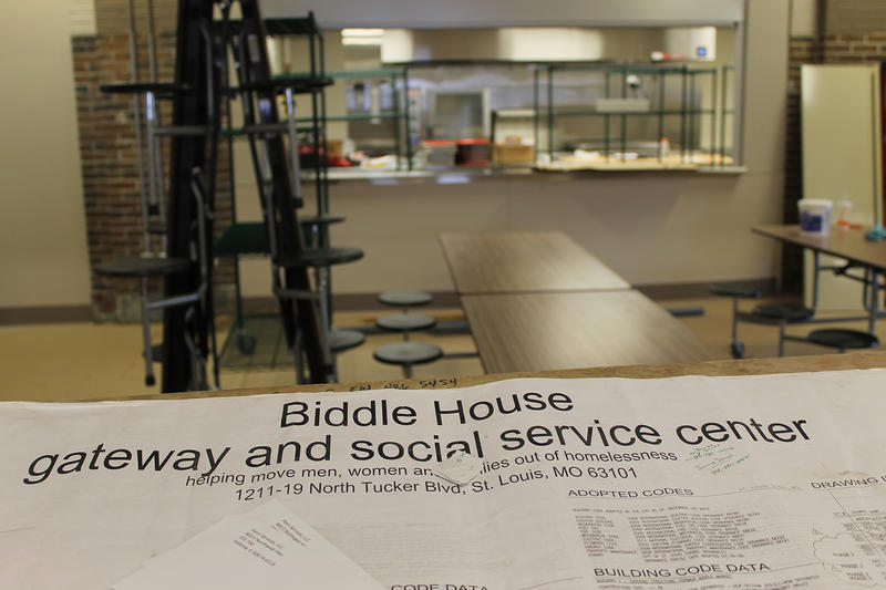 Federal investigators will be in St. Louis this week to look at whether the Biddle Housing Opportunities Center, pictured here in August 2016, violates fair housing laws.