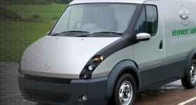 t-001 hybrid electric van