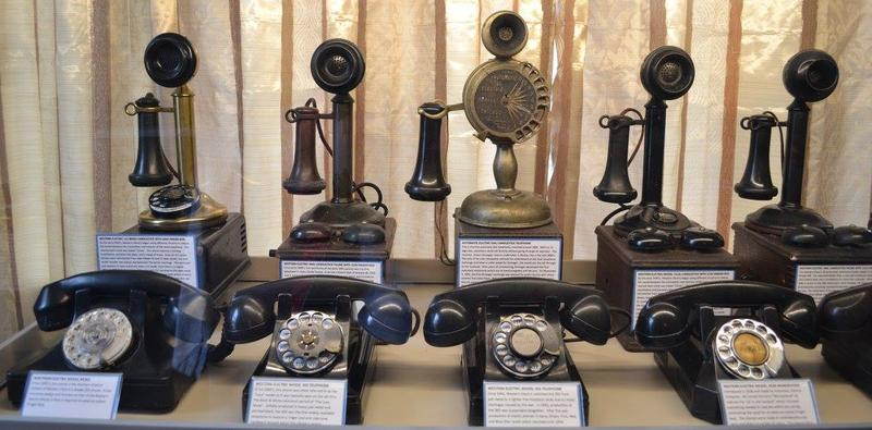 Local retired telephone employees banded together to create the Jefferson Barracks Telephone Museum, which opened earlier this year. Here's one of the exhibits inside.