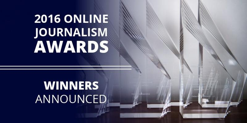 2016 Online Journalism Awards