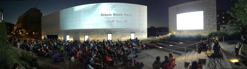 Come watch the next Presidential Debates with us!