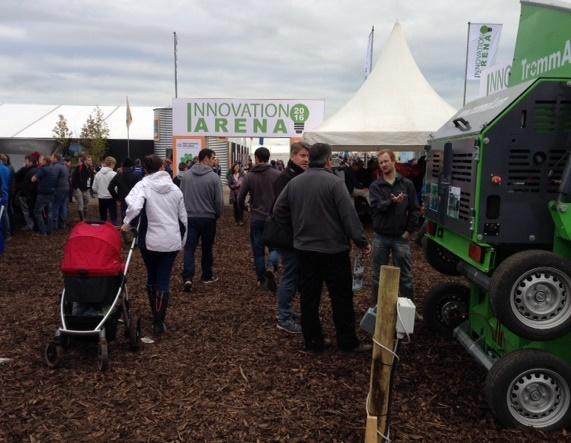 A view of the National Ploughing Championships in Ireland.
