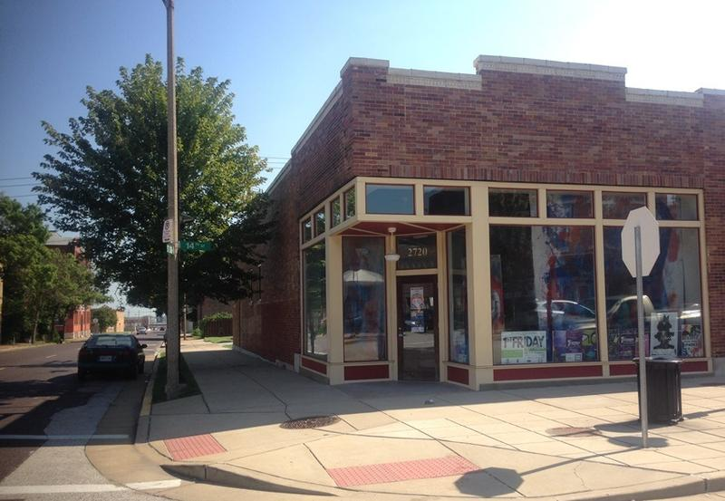 The Fantasy Food Fare Business Competition winner will be open a restaurant at this location at St. Louis Avenue and North 14th Street in St. Louis' Old North area, seen in this file photo.
