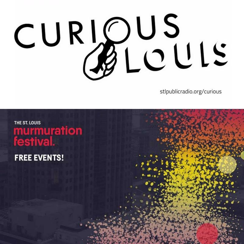 Curious Louis and Murmuration logo