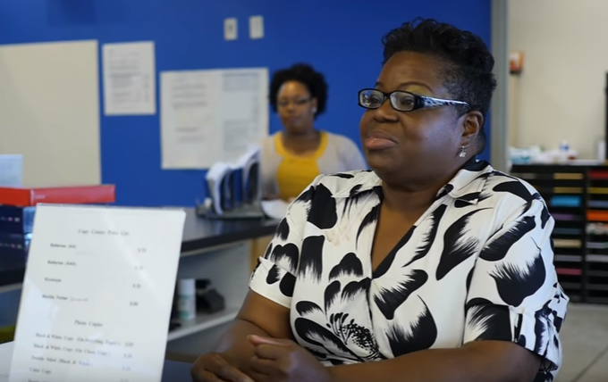 Trenda Davis is a member of the Independence Center's clubhouse.